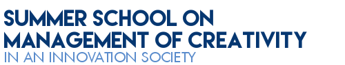 Mosaic Summer school on management of creativity in an innovation society Logo